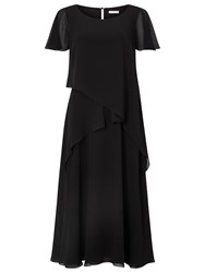 Jacques Vert Soft Tie Detail Dress Black