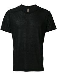 Rick Owens Relaxed Fit T Shirt Black