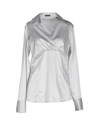 Robert Friedman Shirts Blouses Women Light Grey