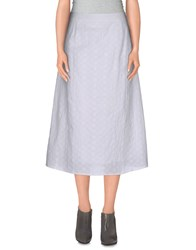 Anonyme Designers 3 4 Length Skirts White