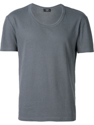 Ports 1961 Scoop Neck T Shirt Grey