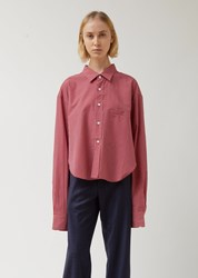 Vetements Red Check Cut Up Shirt Red Check