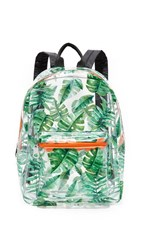 Studio 33 Backpack Clear Summer Leaves
