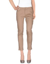 Scee By Twin Set Trousers Casual Trousers Women Light Brown