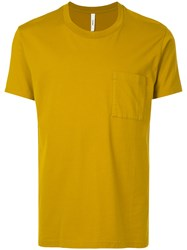 Attachment Classic Short Sleeve T Shirt Yellow And Orange
