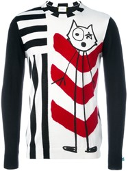 Iceberg Multi Stripe Sweatshirt Black