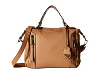 Jessica Simpson Kyle Crossbody Satchel Latte Satchel Handbags Brown