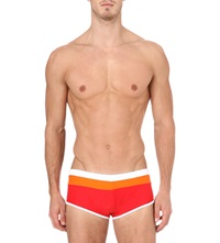 Aussiebum Wave Swim Trunks Red