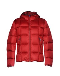 313 Tre Uno Tre Down Jackets Red