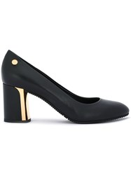 Baldinini Heeled Pumps Leather Rubber 37.5 Black