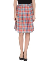 Boy By Band Of Outsiders Knee Length Skirts Rust