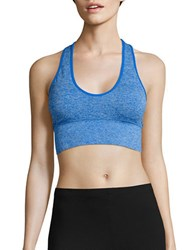 Candc California Melissa Seamless Built Up Sports Bra Electric Blue