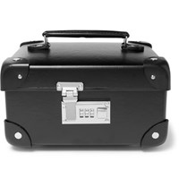 Globe Trotter Leather Trimmed Watch Case Black