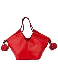 Ulla Johnson Lali Mini Bag Red