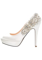 Paradox London Pink Indulgence Bridal Shoes Ivory White