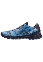 Reebok All Terrain Thrill Trail Running Shoes Collegiate Navy Wild Blue
