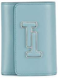 Tod's Tt French Wallet Blue