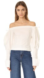 Jacquemus Provence Top Off White