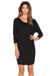 Nation Ltd. Ginny Dolman Sleeve Dress Black