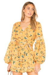 The Fifth Label Skyward Wrap Top Yellow