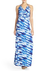 Petite Women's Felicity And Coco Tie Dye Jersey Halter Maxi Dress Nordstrom Exclusive