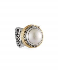 Konstantino Pearl Ring Large