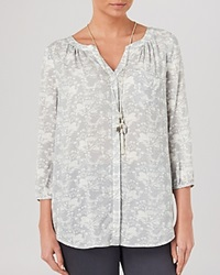 Phase Eight Blouse Swan Print