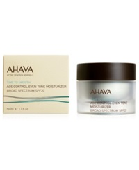 Ahava Age Control Even Tone Moisturizer Broad Spectrum Spf 20 No Color
