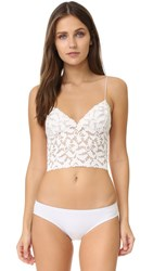 Free People Lace Lacey Cami Ivory