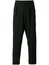 J.W.Anderson Scallop Hem Trousers Black