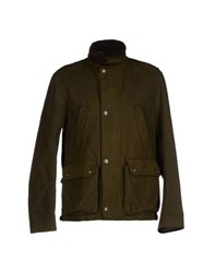 Jacob Cohen Jacob Coh N Coats And Jackets Jackets Men Dark Green