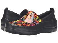 Klogs Footwear Ashbury Neon Daisy Women's Clog Shoes Orange