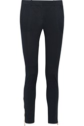 Belstaff Filton Cotton Blend Skinny Pants Blue