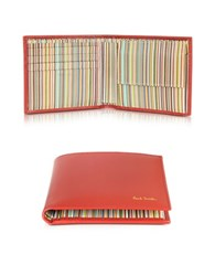 Paul Smith Leather Billfold Wallet W Coin Purse