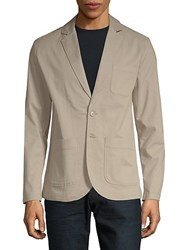 Saks Fifth Avenue Black Classic Notch Blazer Grey