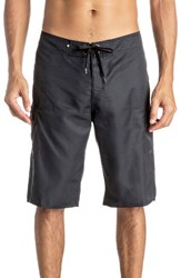 Quiksilver Men's Big And Tall Manic Cargo Board Shorts Black