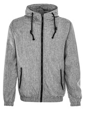 Urban Classics Summer Jacket Black Grey