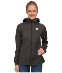 Black Diamond Alpine Start Hoodie Slate Women's Sweatshirt Metallic