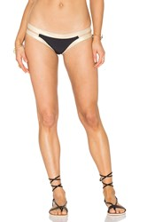 Luli Fama Warrior Spirit Split Band Bottom Black
