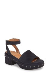 Seychelles Spare Moments Sandal Navy Suede