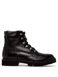 Grenson Rutherford Leather Boots Black