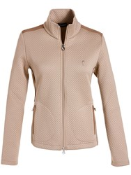 Golfino Diamond Padded Jacket Camel