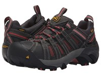 Keen Utility Flint Low Magnet Rose Women's Work Lace Up Boots Black