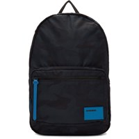 Diesel Blue And Black F Discover Backpack