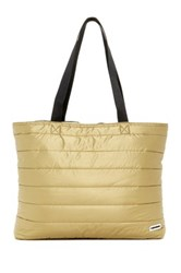 Converse Packable Gold Toned Tote Metallic