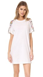 3.1 Phillip Lim Dress With Topstitch Ribbon Ant. White