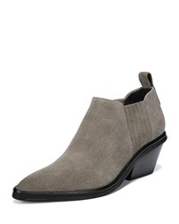 Via Spiga Farly Water Resistant Block Heel Clay