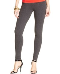 Hue Cotton Leggings Graphite