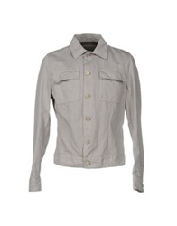 Siviglia Denim Jackets Light Grey