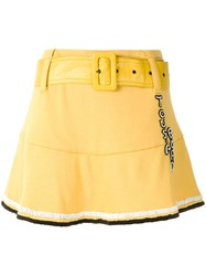 Andrea Bogosian Shorts Saia Poetry Ld Yellow